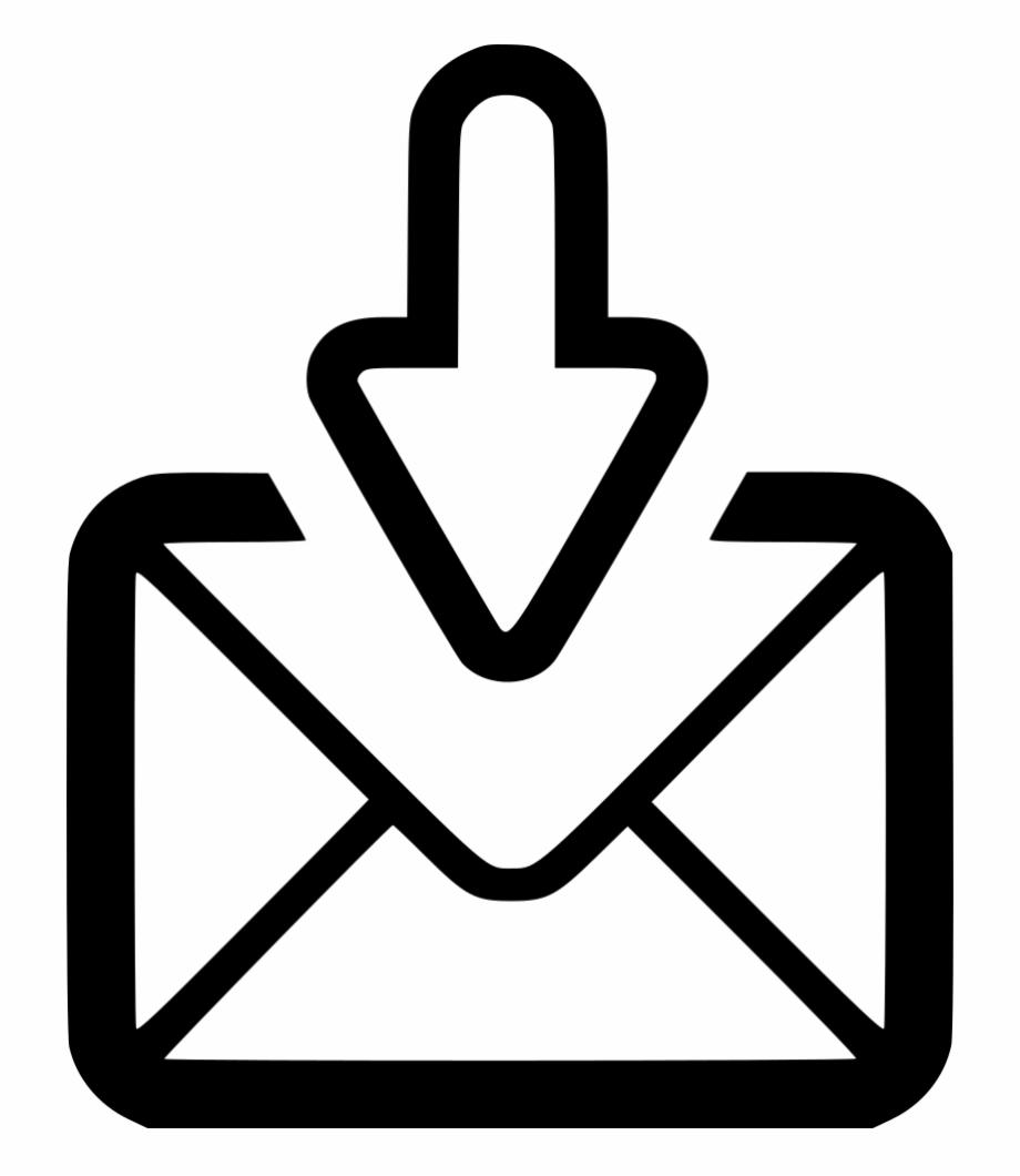 E Receive Sent Letter Envelope Postal Svg Png Icon.