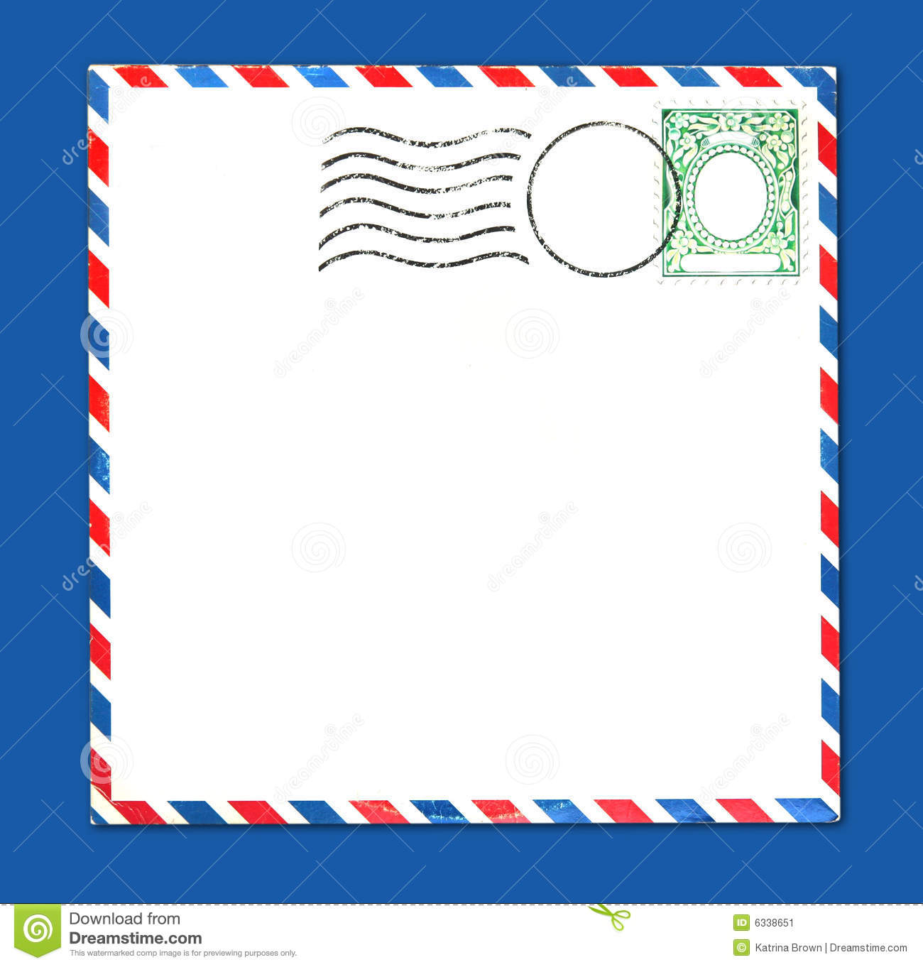 1722 Envelope free clipart.