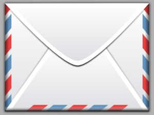 Clipart of envelope.