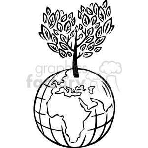eco sustainable earth clipart. Royalty.