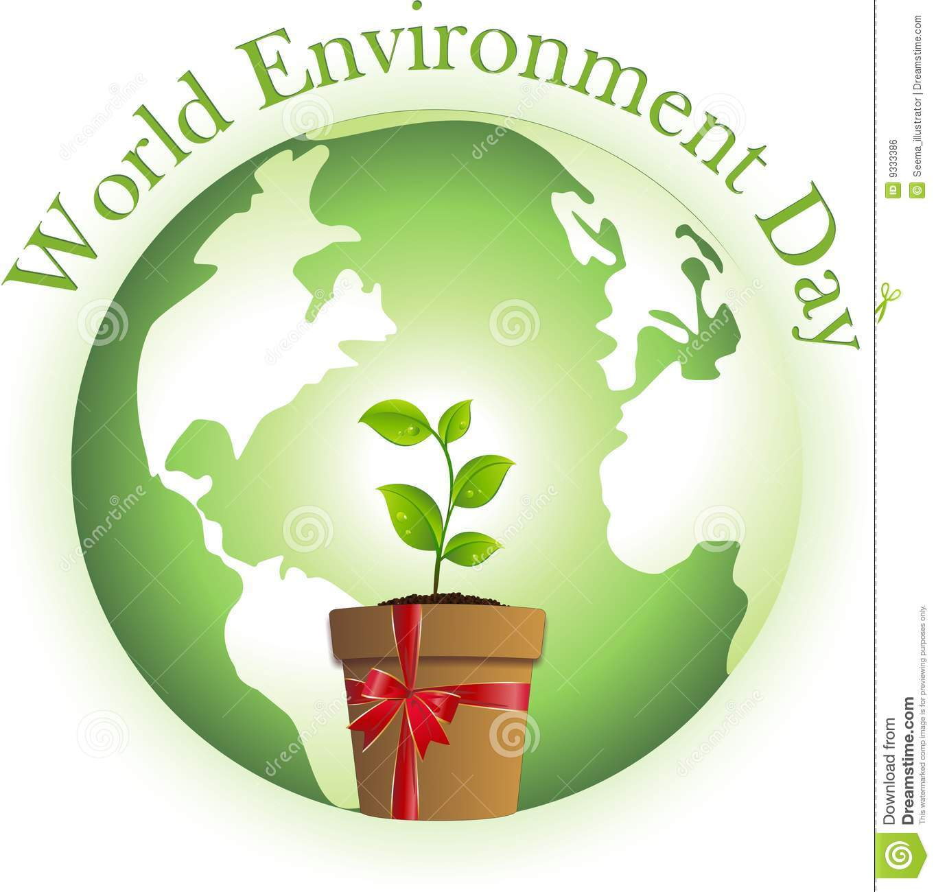 World Environment Day Royalty Free Stock Image.