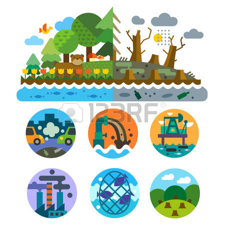 35,232 Environmental Pollution Stock Illustrations, Cliparts And.