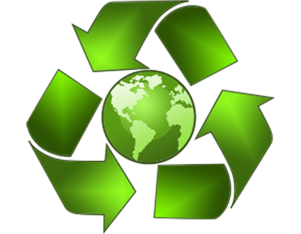 Environmental awareness clip art.