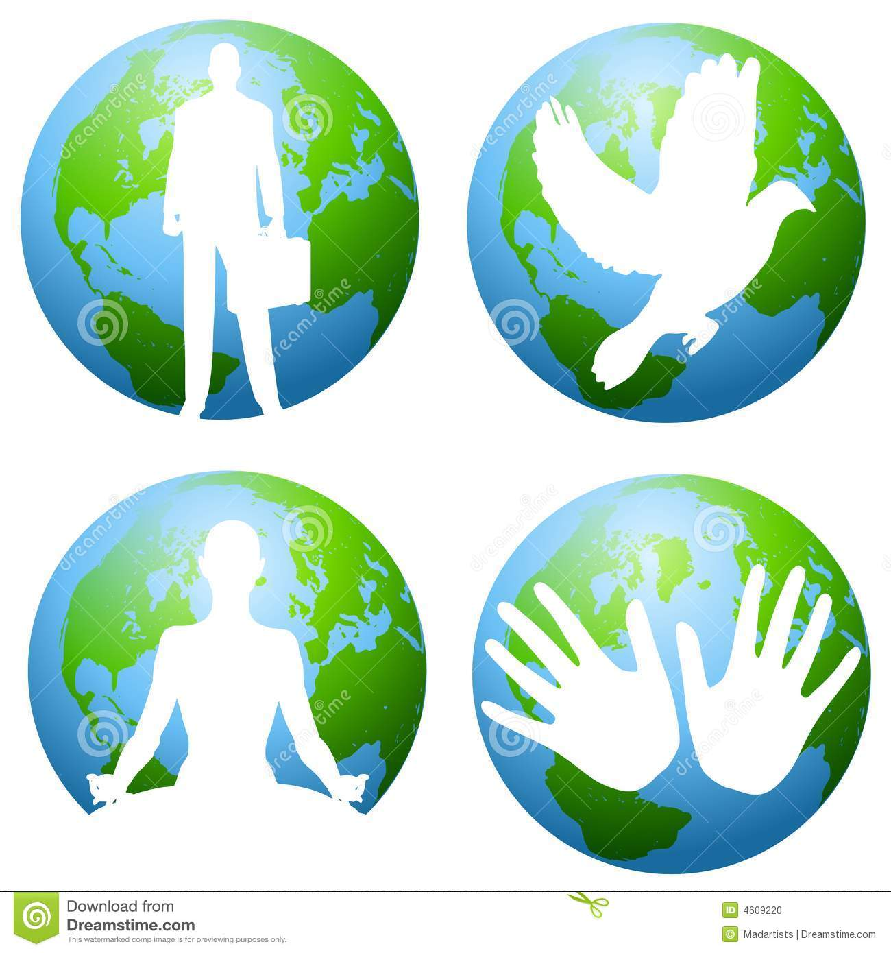 Earth And Environmental Clip Art Stock Photo.
