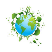 Clipart of environmental / recycling icons k9536861.