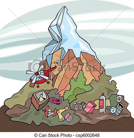 Vector of environmental pollution.