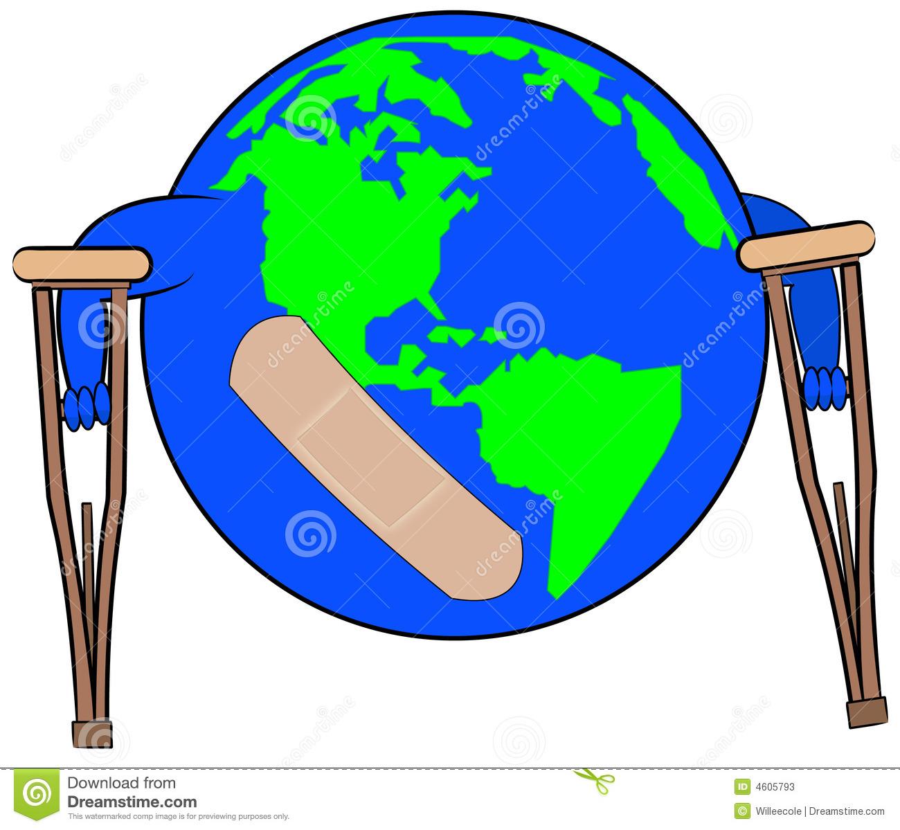Global Damage Stock Photos.