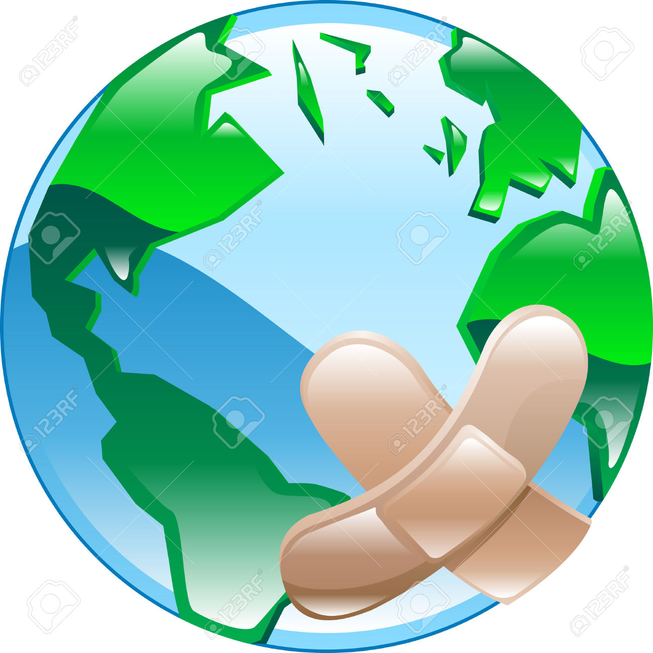 Global issues clipart.