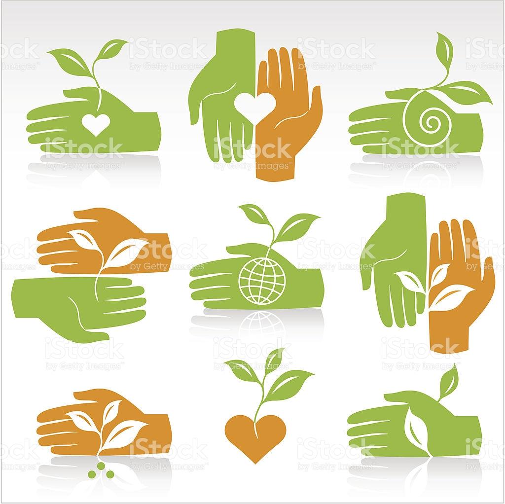 Universal Environmental Symbols stock vector art 165767580.