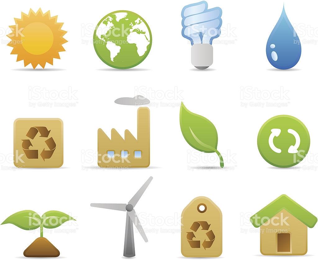 Environmental Icons stock vector art 165609644.