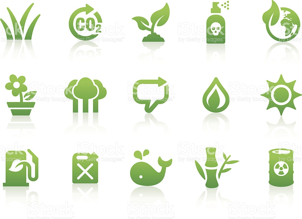 Environmental Icons 1 stock vector art 164399715.