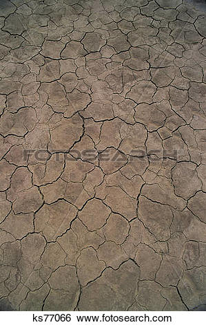 Stock Images of Environmental Issues, Concepts, Crack, Desert.