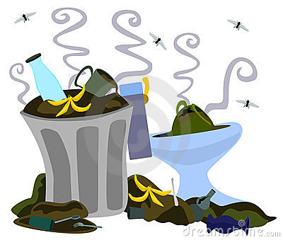 Dirty environment clipart.