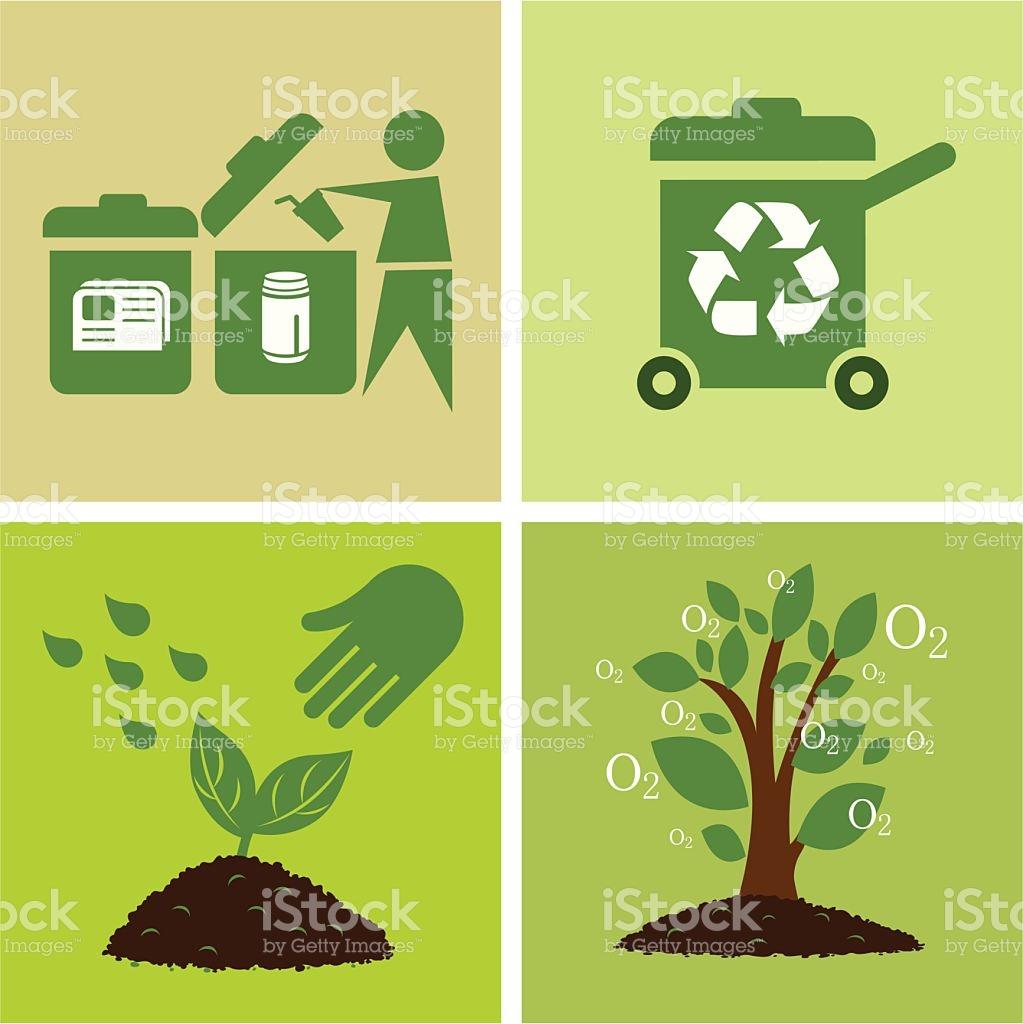 Environmental Protection stock vector art 517055425.