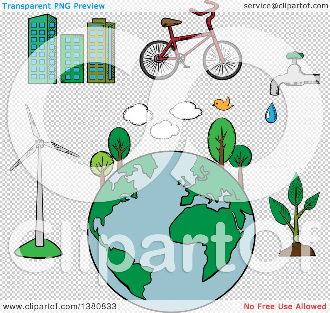 Environmental Geography Clipart.