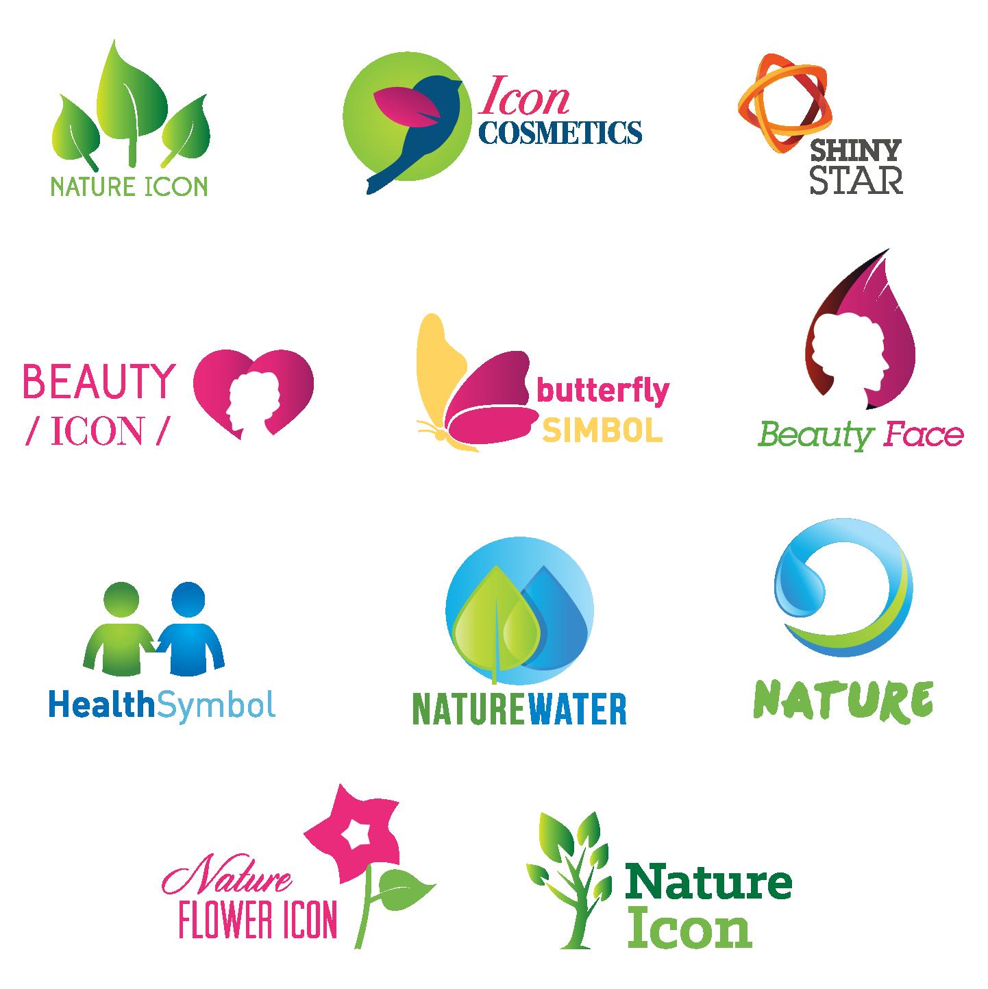 Environmental Care Logos Promoting Awareness.