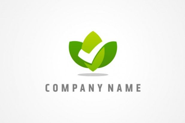Simple Nature and Environmental Logo Design Sample.