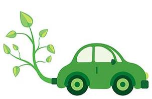 Green Cars   No Longer The Preserve Of Environmentalists Clipart.