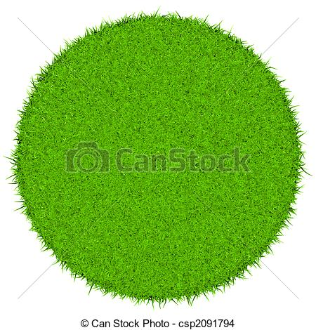 Filled green grass environmentally friendly concept Clip Art and.