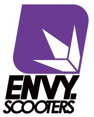 Envy scooters logo.