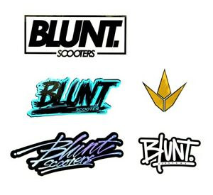 Details about Blunt Envy Scooters Sticker Pack.