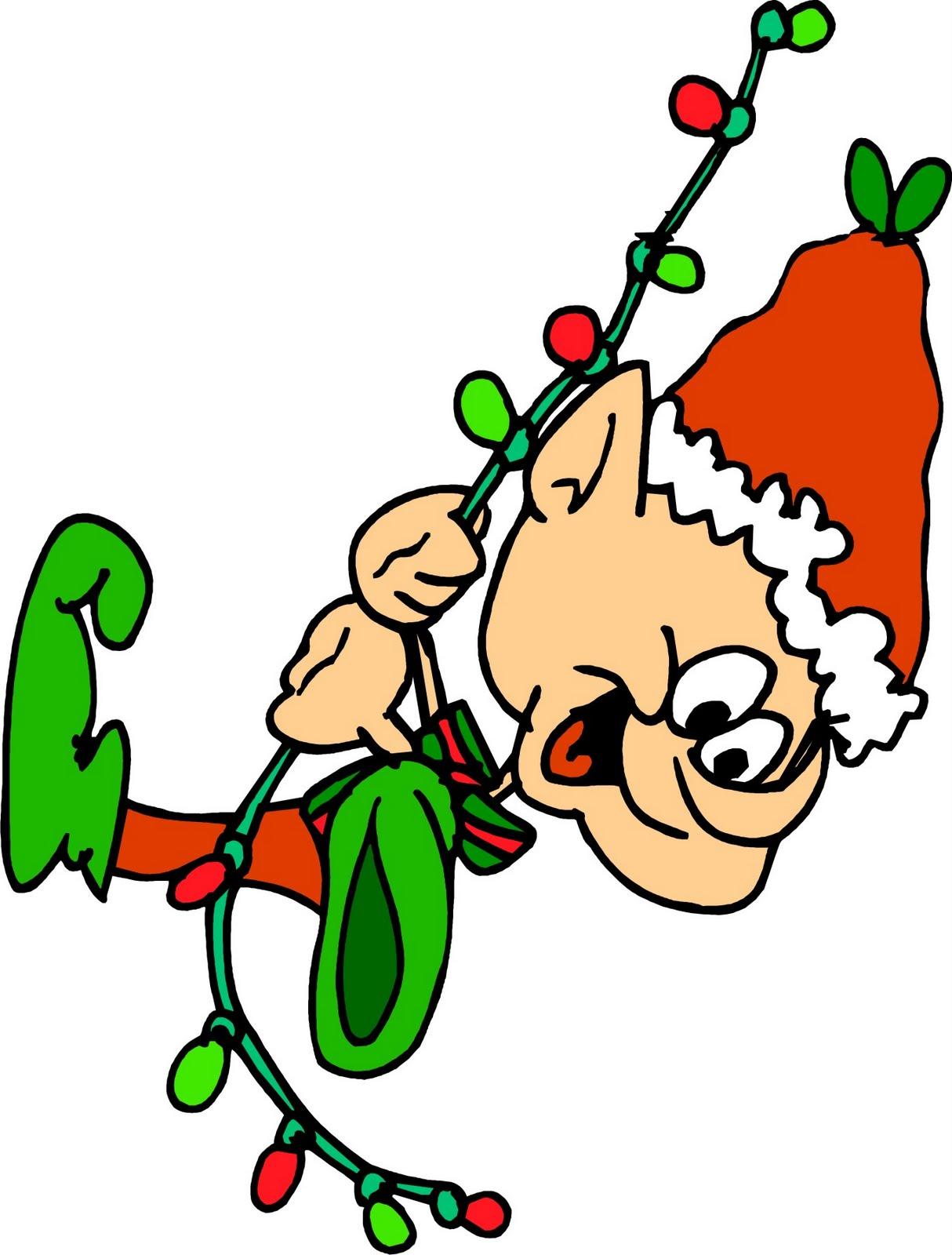 Christmas Walk Clipart.