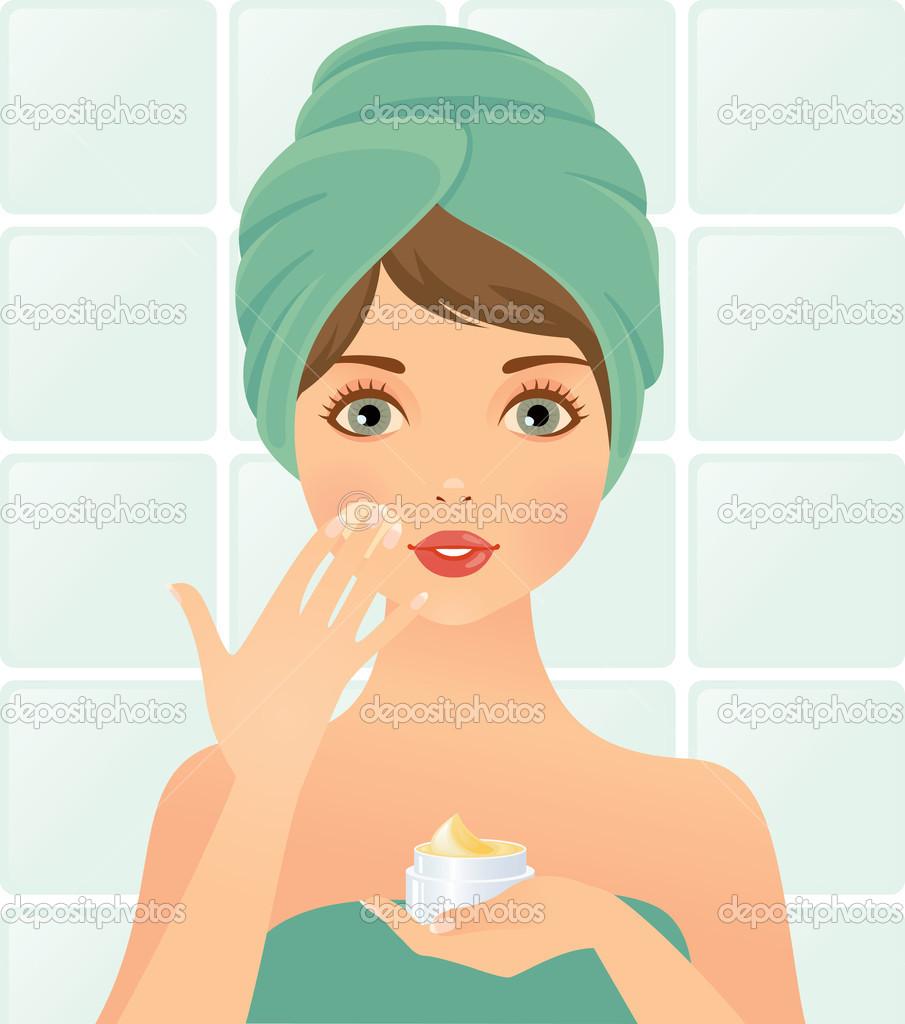 Skin Care Clip Art.