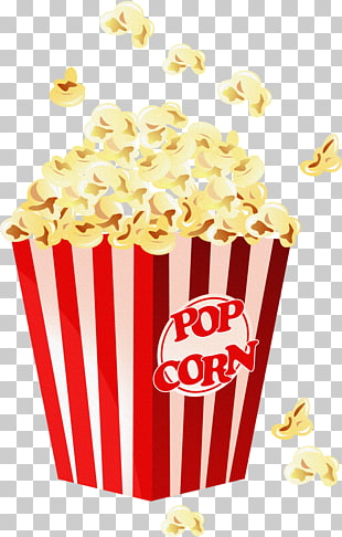 Popcorn Enzian Theater Cinema Film, cup corn PNG clipart.
