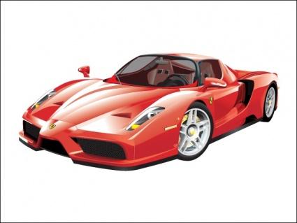 Ferrari Enzo Clipart Graphic.