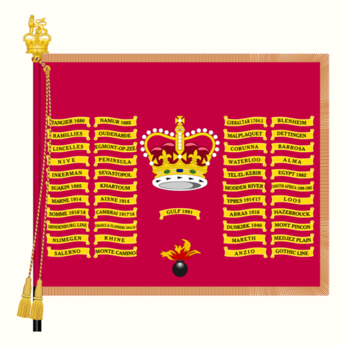 Battle honours of the British and Imperial Armies.