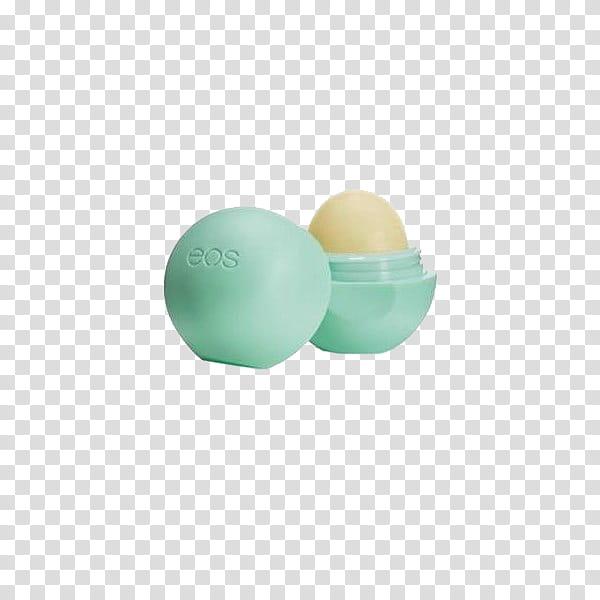 Green Water Verde Agua , green EOS lip balm transparent.