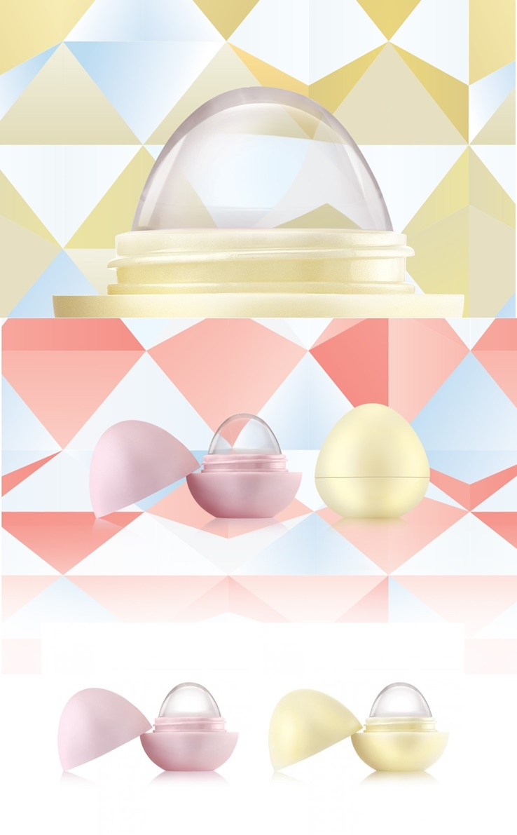 EOS Crystal Lip Balm for Fall 2017.