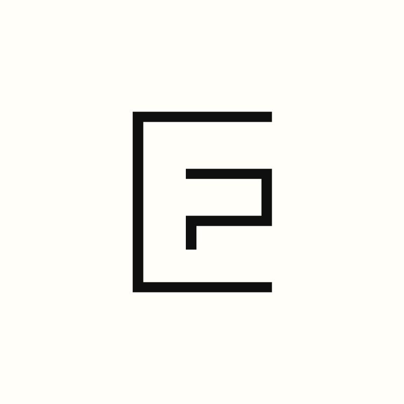 EP Monogram by Richard Baird. (Available). #logo #branding.