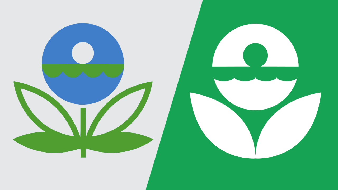 The Fraught History Of The EPA Logo.