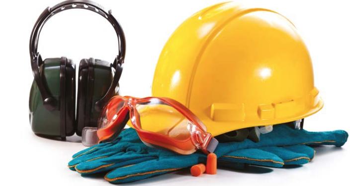 EPI vem freando os acidentes de trabalho, mas ainda precisam de atenção.