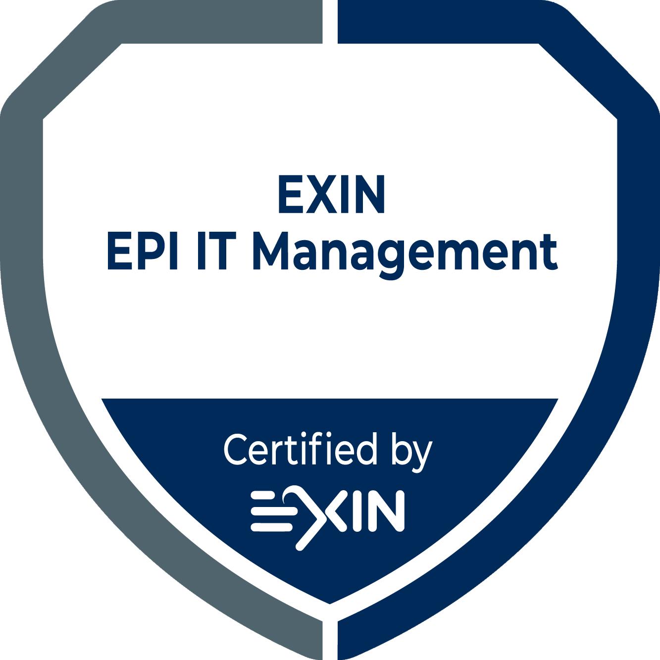 EXIN EPI IT Management.