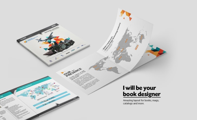 make your marketing books looks epic with my design.