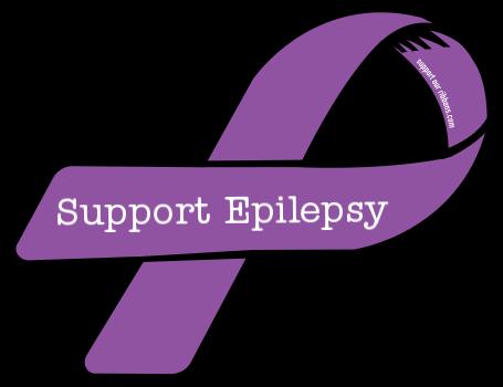 Epilepsy Ribbon Clip Art.