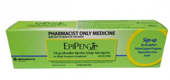 Epipen Single use Injection Pen.