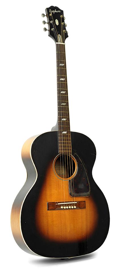 Jimi Hendrix Acoustic Guitar Clip Art.