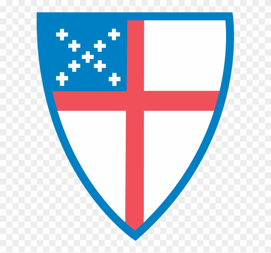 Episcopal Church Shield Color Clipart (#2386200).