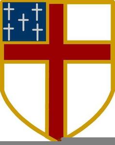 Episcopal Shield Clipart.