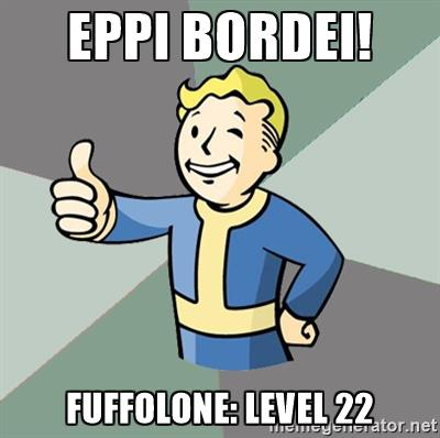 Eppi bordei! Fuffolone: Level 22.