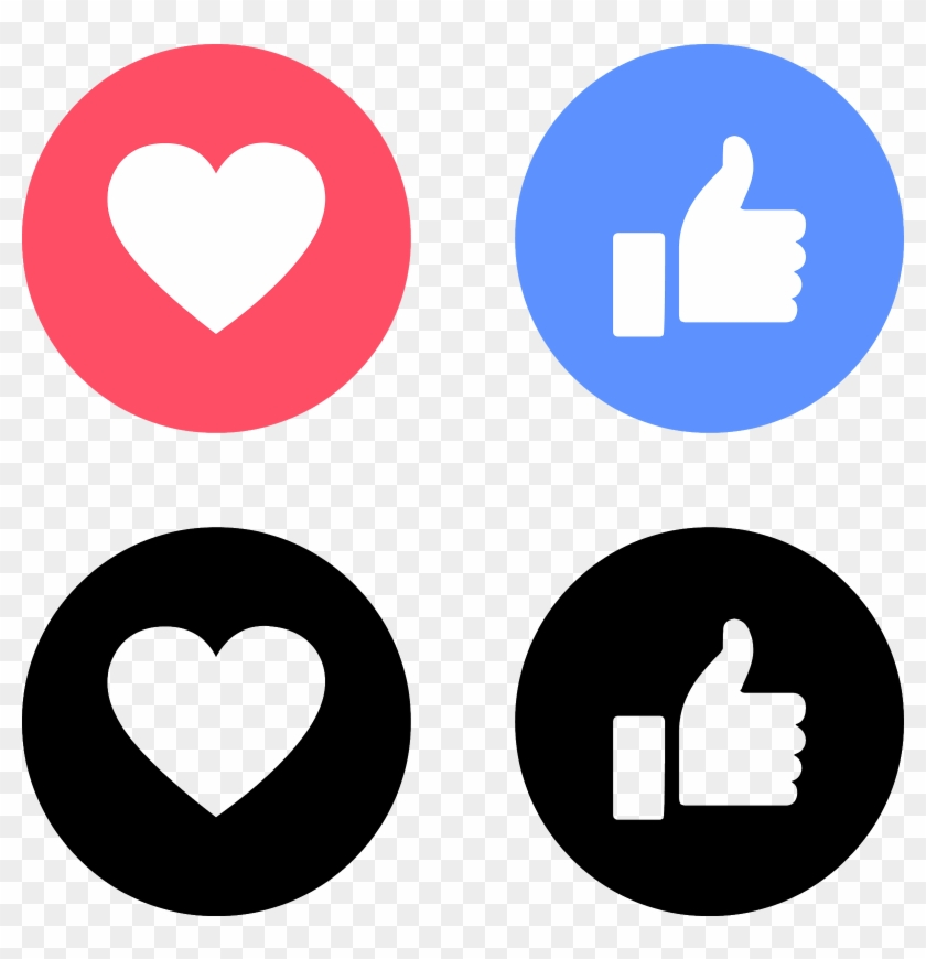 Download Like Love Facebook Icons Svg Eps Png Psd Ai.