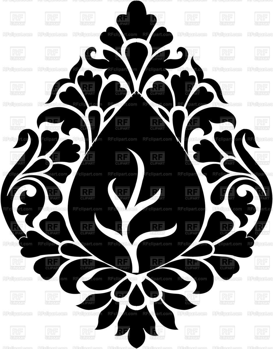 Ornamental Design Stock Vector Image.