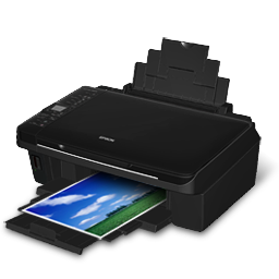 Free Icons: Epson Stylus TX220 Printer Icon.