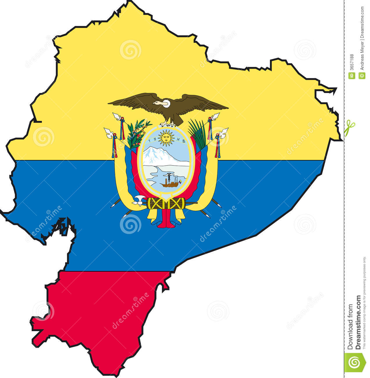 Ecuador Stock Illustrations.