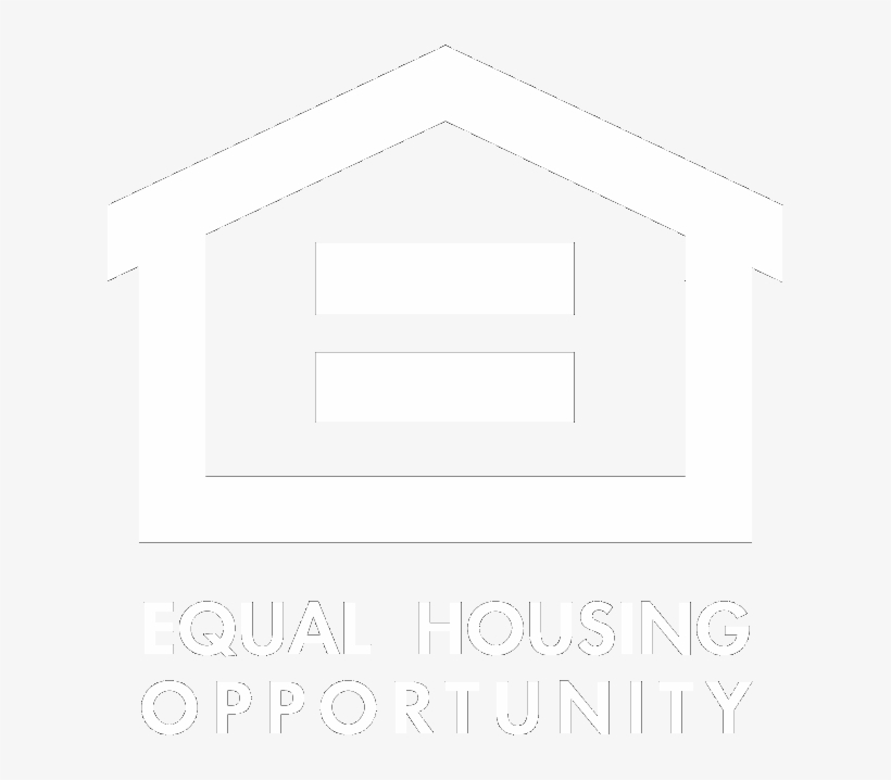 Equal Housing Opportunity Logo White Png.