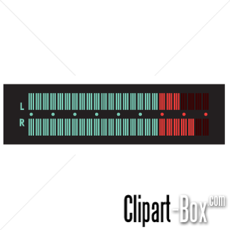 CLIPART EQUALIZER AUDIO LEVEL.