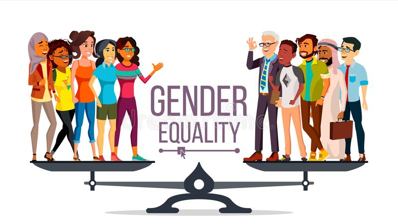 Equality Stock Illustrations.